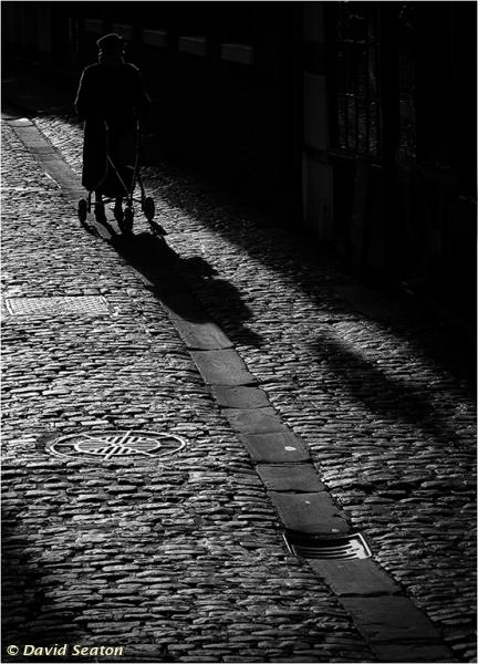 Cobbled Street by David Seaton